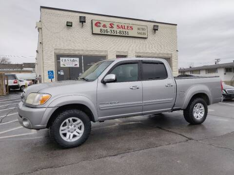 2006 Toyota Tundra for sale at C & S SALES in Belton MO
