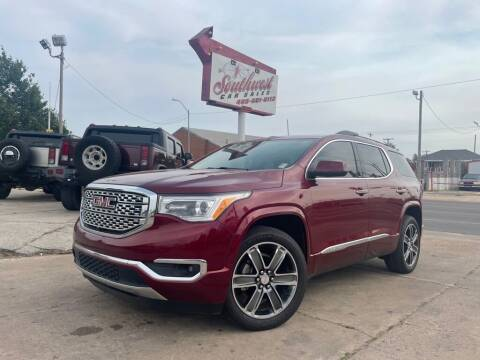 2018 GMC Acadia for sale at Southwest Car Sales in Oklahoma City OK