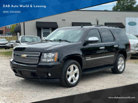 2010 Chevrolet Tahoe for sale at DAB Auto World & Leasing in Wake Forest NC