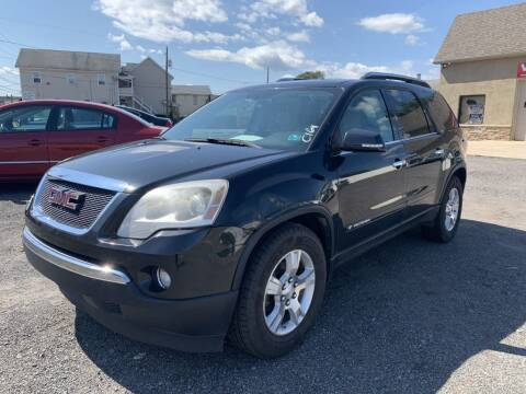 2008 GMC Acadia for sale at VINNY AUTO SALE in Duryea PA