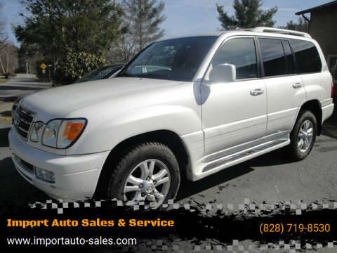2005 Lexus LX 470 for sale at Import Auto Sales & Service in Boone NC