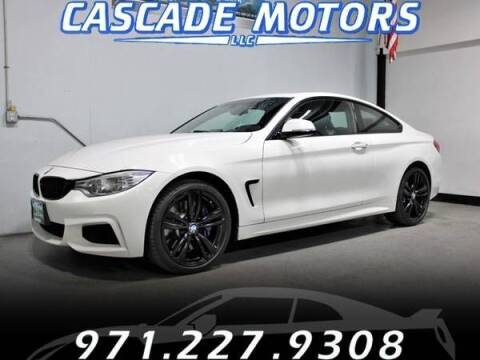 2014 BMW 4 Series for sale at Cascade Motors in Portland OR