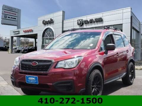 2018 Subaru Forester for sale at Ron's Automotive in Manchester MD