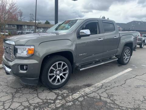 2018 GMC Canyon for sale at South Commercial Auto Sales in Salem OR