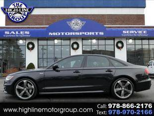 2014 Audi A6 for sale at Highline Group Motorsports in Lowell MA