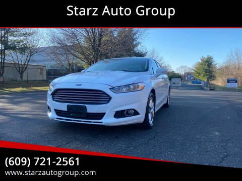 2013 Ford Fusion for sale at Starz Auto Group in Delran NJ