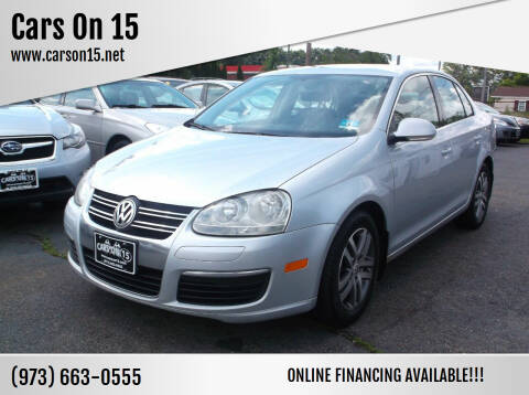 2006 Volkswagen Jetta for sale at Cars On 15 in Lake Hopatcong NJ
