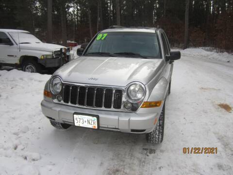 2007 Jeep Liberty for sale at SUNNYBROOK USED CARS in Menahga MN