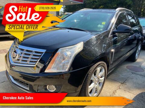 2013 Cadillac SRX for sale at Cherokee Auto Sales in Acworth GA