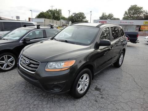 2010 Hyundai Santa Fe for sale at HAPPY TRAILS AUTO SALES LLC in Taylors SC