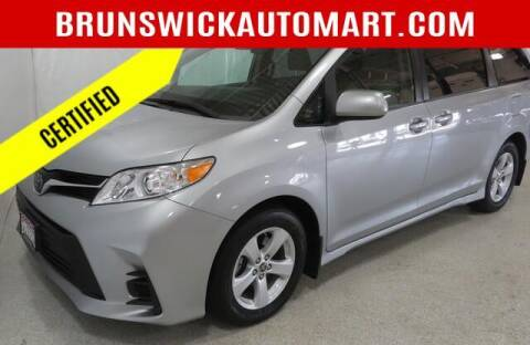 2020 Toyota Sienna for sale at Brunswick Auto Mart in Brunswick OH