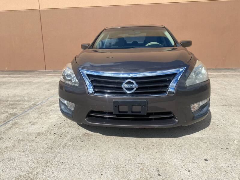 2014 Nissan Altima for sale at ALL STAR MOTORS INC in Houston TX