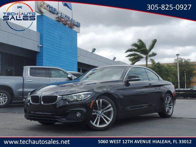 2019 BMW 4 Series for sale at Tech Auto Sales in Hialeah FL