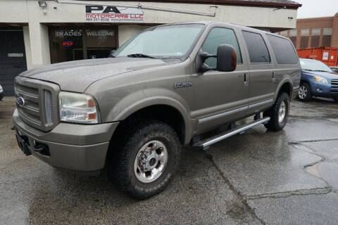 2005 Ford Excursion for sale at PA Motorcars in Conshohocken PA