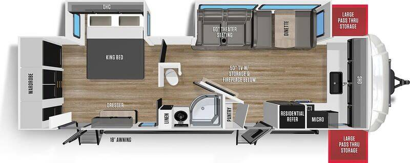2021 Forest River 276FKX for sale at Frontier RV Sales in Anchorage AK