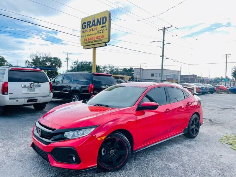 2017 Honda Civic for sale at Grand Auto Sales in Tampa FL