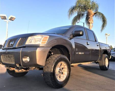 2007 Nissan Titan for sale at CARSTER in Huntington Beach CA
