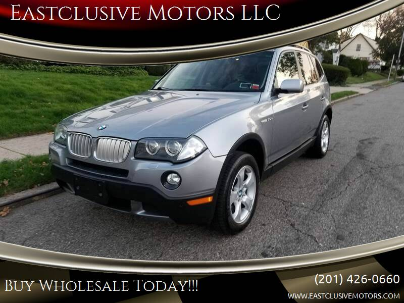 2008 BMW X3 for sale at Eastclusive Motors LLC in Hasbrouck Heights NJ