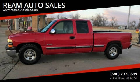 2000 Chevrolet Silverado 1500 for sale at REAM AUTO SALES in Enid OK