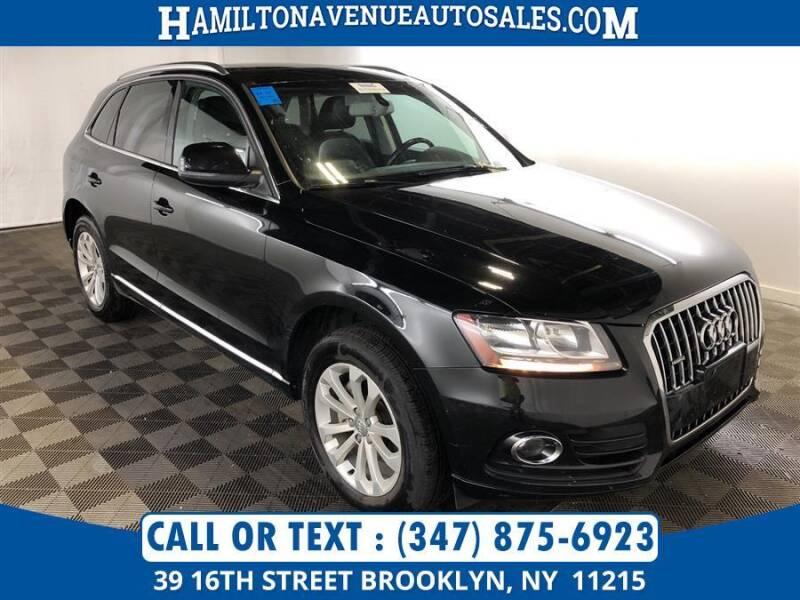 2013 Audi Q5 for sale at Hamilton Avenue Auto Sales in Brooklyn NY