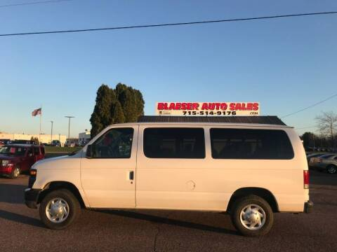 2011 Ford E-Series Wagon for sale at BLAESER AUTO LLC in Chippewa Falls WI