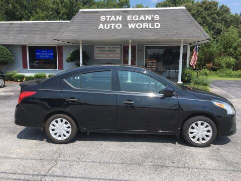 2017 Nissan Versa for sale at STAN EGAN'S AUTO WORLD, INC. in Greer SC