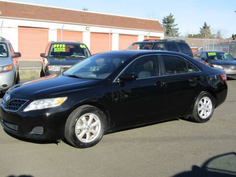 2011 Toyota Camry for sale at ARISTA CAR COMPANY LLC in Portland OR