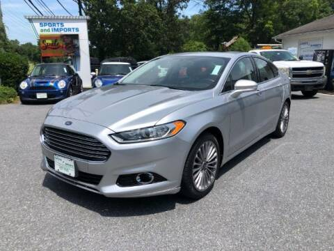 2013 Ford Fusion for sale at Sports & Imports in Pasadena MD
