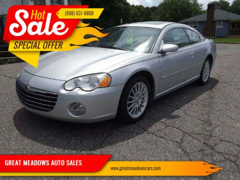 2005 Chrysler Sebring for sale at GREAT MEADOWS AUTO SALES in Great Meadows NJ