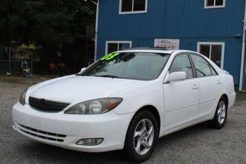 2003 Toyota Camry for sale at Sarabi Auto Sale in Puyallup WA