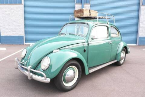 1960 Volkswagen Beetle for sale at Classic Car Deals in Cadillac MI