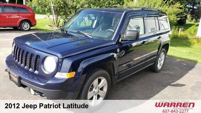 2012 Jeep Patriot for sale at Warren Auto Sales in Oxford NY