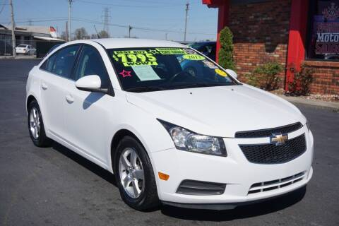 2013 Chevrolet Cruze for sale at Premium Motors in Louisville KY