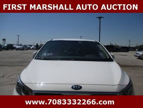 2016 Kia Sedona for sale at First Marshall Auto Auction in Harvey IL