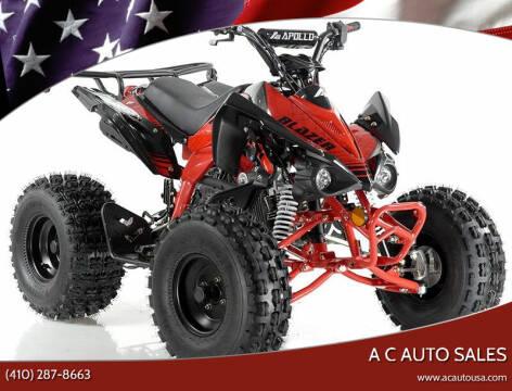 2020 Apollo  5443 Blazer 9 for sale at A C Auto Sales in Elkton MD