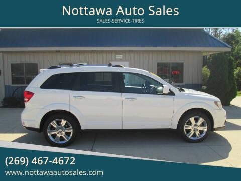 2014 Dodge Journey for sale at Nottawa Auto Sales in Nottawa MI
