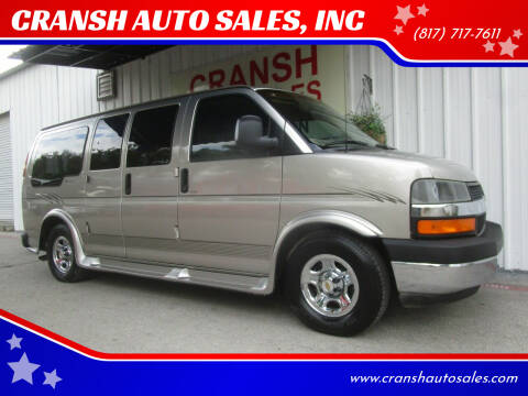 2003 Chevrolet Express Cargo for sale at CRANSH AUTO SALES, INC in Arlington TX