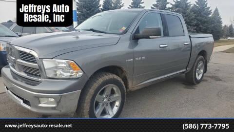 2009 Dodge Ram Pickup 1500 for sale at Jeffreys Auto Resale, Inc in Clinton Township MI