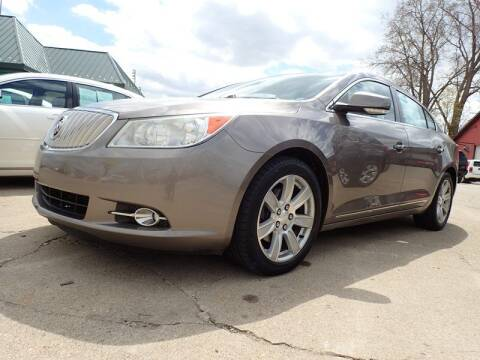 2011 Buick LaCrosse for sale at RPM AUTO SALES in Lansing MI
