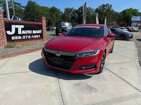 2020 Honda Accord for sale at J T Auto Group in Sanford NC