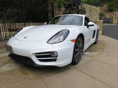 2014 Porsche Cayman for sale at Milpas Motors in Santa Barbara CA