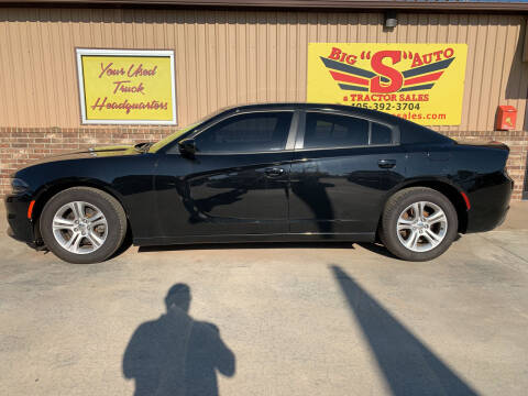 2015 Dodge Charger for sale at BIG 'S' AUTO & TRACTOR SALES in Blanchard OK