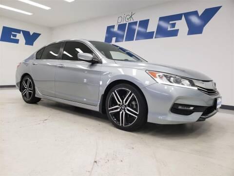 2017 Honda Accord for sale at HILEY MAZDA VOLKSWAGEN of ARLINGTON in Arlington TX