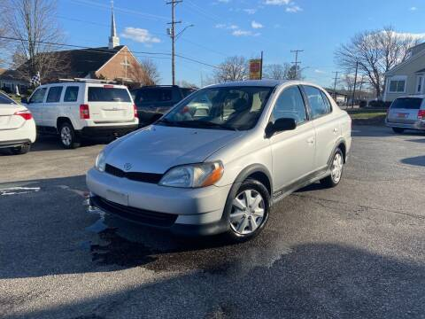 2000 Toyota ECHO for sale at Metacom Auto Sales in Ware RI