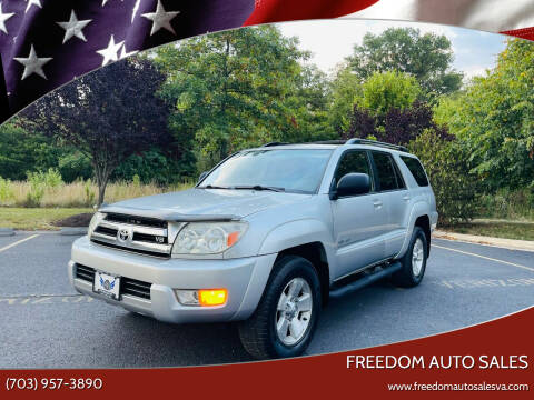 2005 Toyota 4Runner for sale at Freedom Auto Sales in Chantilly VA