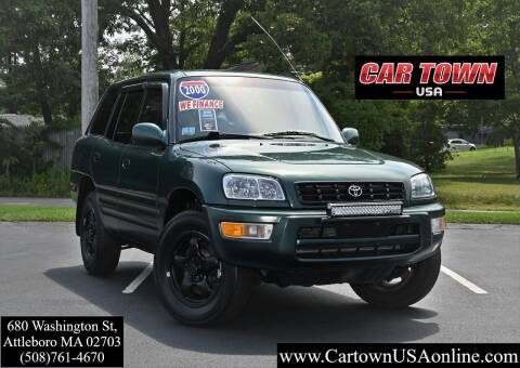 2000 Toyota RAV4 for sale at Car Town USA in Attleboro MA