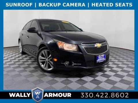 2013 Chevrolet Cruze for sale at Wally Armour Chrysler Dodge Jeep Ram in Alliance OH