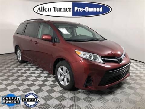 2020 Toyota Sienna for sale at Allen Turner Hyundai in Pensacola FL