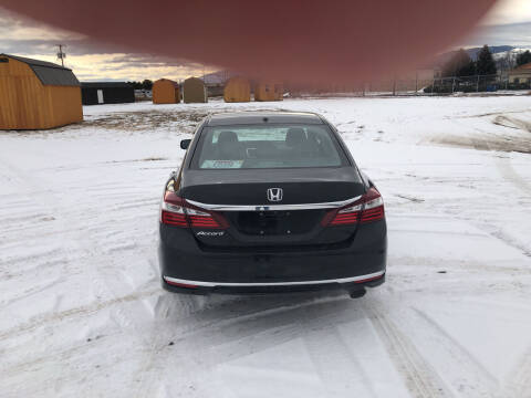 2016 Honda Accord for sale at Best Buy Auto Sales in Missoula MT