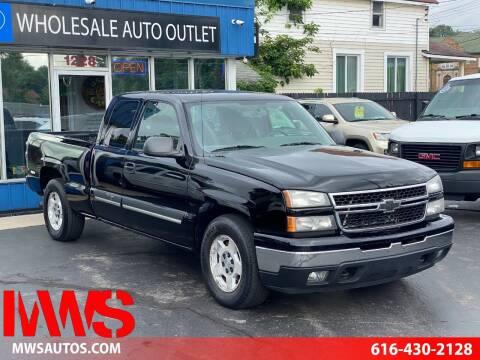 2006 Chevrolet Silverado 1500 for sale at MWS Wholesale  Auto Outlet in Grand Rapids MI